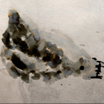 Serie: Inks /  Klimt studies